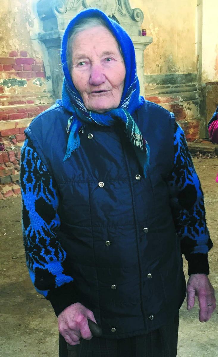 Пані Катерина — жива історія, якій 92 роки, і яка пам'ятає племінниць Андрея Шептицького, Ізю й Кшисю, які зараз живуть у Польщі.
