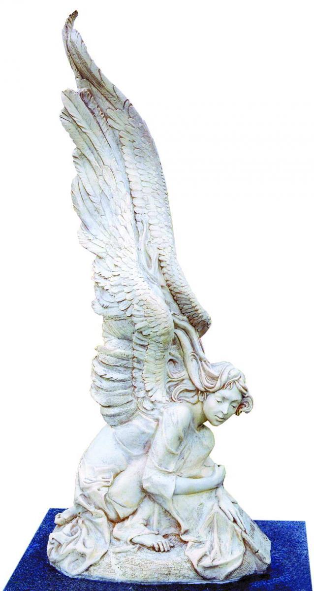 Пам'ятник батькові, власноруч виготовлений Дмитром Легерком