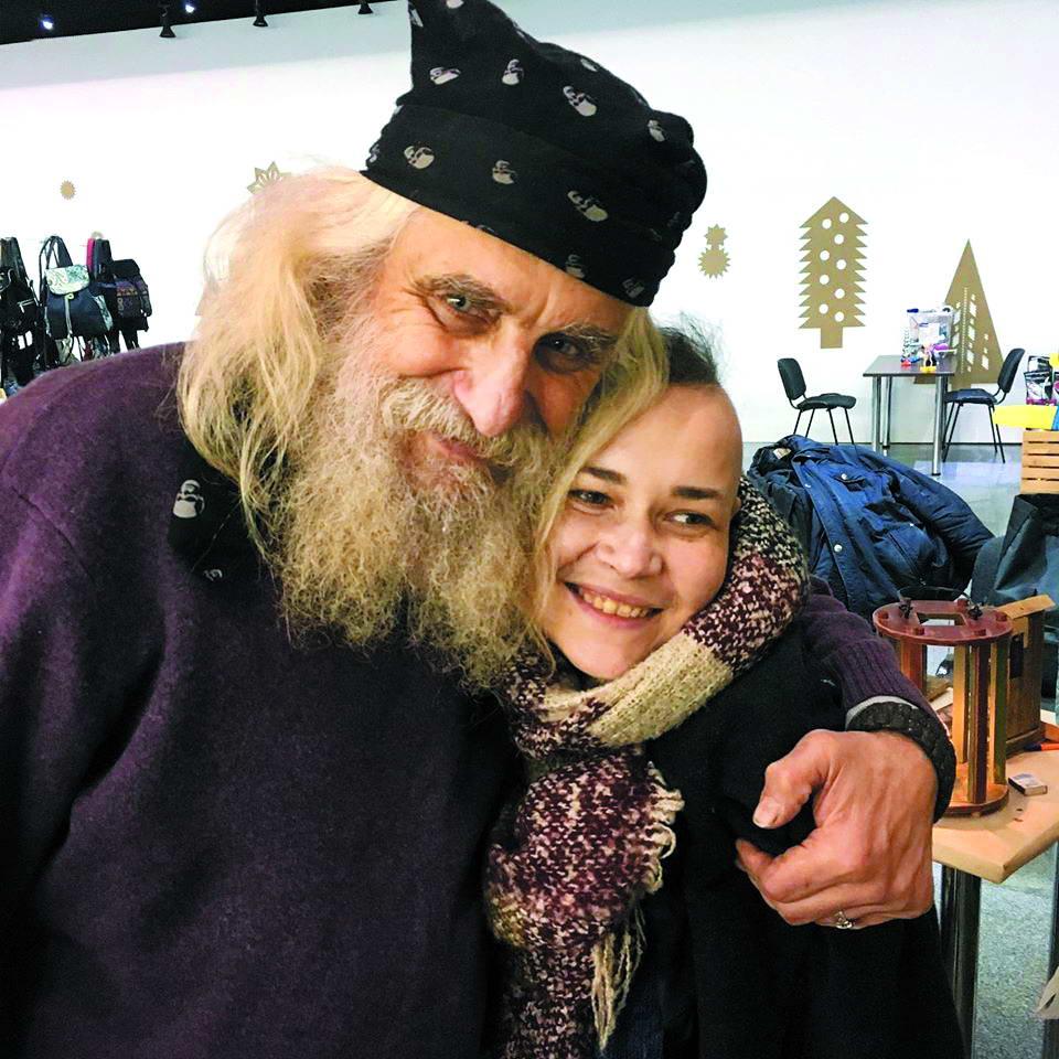 Лев Скоп із дружиною Тетяною Думан.